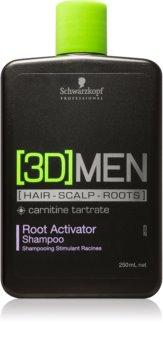 Schwarzkopf Professional [3D] MEN shampoo attivatore delle radici